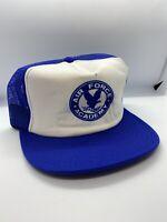 Vintage Air Force Academy Snap Back Trucker Hat Adjustable Cap