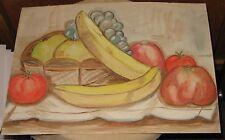 Gemälde - Zeichnung - Bild  * Stilleben  * -  Obst