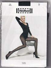 Collant WOLFORD TIPPI coloris Caviar. Taille S. Tights.