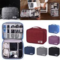 1XPortable Voyage Accessoires électroniques Câble USB Sac de Rangement Stockage