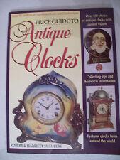 ANTIQUE CLOCKS PRICE GUIDE COLLECTOR'S BOOK Wall Mantel Shelf Grandfather +++