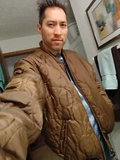 Southpole Bomber style Coat Reversible Jacket Brown/Coffee Sz Lg Gently Used