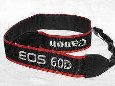 CANON EOS 60D CAMERA NECK STRAP   Black / Red