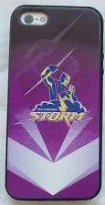 MELBOURNE STORM NRL IPHONE 5 SOFT GEL PHONE COVER CASE + SCREEN PROTECTOR