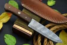 Custom Damascus Steel Chef Knife Handmade With Walnut Handle (Z267-C)