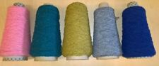 Boucle yarn 3Ply Assorted Colours 5 x 100Grms