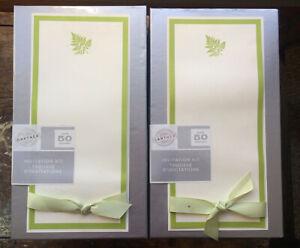 NEW Gartner Studios Tall Green Fern INVITATION KIT 50 ct ENVELOPES & STATIONARY