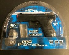 Umarex Walther PPQ Special Operations Airsoft Spring Pistol w/ 2 Magazines & BBs