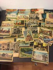 vintage postcards lot cave of the winds, Washington, Newport, Mount Vernon,