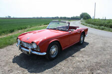 TRIUMPH TR4 1963 LEFT HAND DRIVE. WHITE DASH. LOVELY CAR DRIVE AWAY
