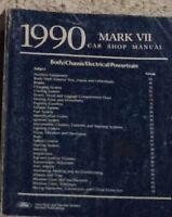 1990 Ford Lincoln MARK VII 7 Service Shop Repair Workshop Manual OEM Factory 90