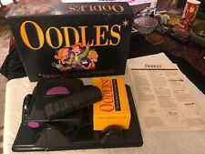 1992 OODLES Electronic Card Board Game Milton Bradley Hasbro 3+ Adult