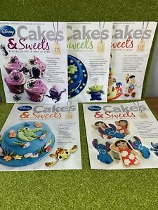 Disney Cakes & Sweets Magazines x5  Issues 111 - 115 (MAGS ONLY)