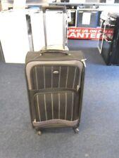 "Aerolite Lightweight Large Trolley Suitcase 26"" Luggage Black 4 wheel"