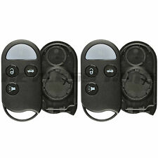 2 New Replacement Keyless Entry Remote Key Fob Case Shell Pad for A269ZUA078