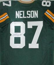 Packers JORDY NELSON Signed Custom Replica Green Jersey AUTO - SB XLV Champ JSA