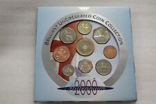2000 Millennium uncirculated Coin Set - issued by Royal Mint B33 #1600