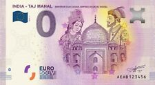 Billet Touristique 0 Euro --- India - Taj Mahal - 2019-1