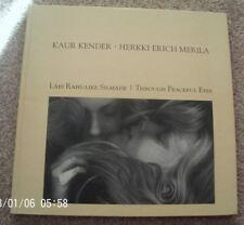 Kaur Kender Herkki Erich Merila Through Peaceful Eyes Signed First Edition HB