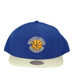 Golden State Warriors Replay Tonal Corduroy 2 Tone Snapback Mitchell and Ness