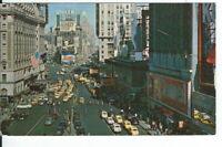 CI-032 NY New York City Times Square Chrome Postcard Pepsi Cola Camel Kinsey