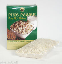 PINE NUT FLAKES - PINE POWER 1.1 POUNDS (500 gr). RAW, WILD HARVESTED, ORGANIC.