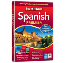 Avanquest Learn It Now Language Learning Software - Spanish