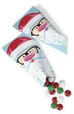 Santa Treat Pouch Container 6 ct from Wilton #5081 - NEW
