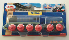 Thomas the Tank Engine & Friends Wooden Railway FRIEDA +1 TENDER NEW