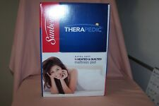 Sunbeam Therapedic Extra Soft Heated & Quilted Mattress Pad NEW in Box Relaxing