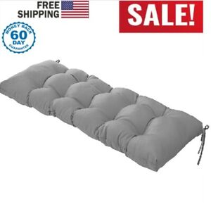 "51"" Porch Loveseat Swing Cushion Padding Outdoor Patio Pillow Bench Seat Padding"