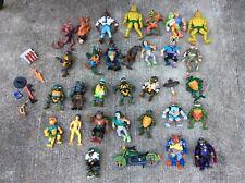 Teenage Mutant Ninja Turtles Loose Figure Lot Leonardo Bebop Rocksteady April