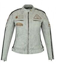 Blouson Cuir Moto Femme, Vintage, Cafe Racer, LederJacke, Rocker, Veste Femme