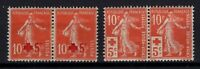 BW143229 FRANCE RED CROSS Y&T # 146 – 147 PAIR MH * CV 110 $