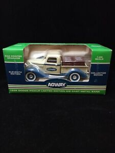 AGWAY 1936 1:25 Scale Dodge Pickup Die-Cast Metal Collector Bank