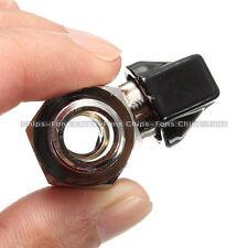 """Brass DZ1322 Chrome 1/4"""" Bsp Ball Valve Tap Male to Female Air Compressor Hose"""