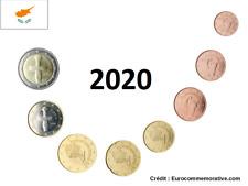Prévente Série 8 pièces Euros Chypre 2020 - 1 centimes à 2 Euros UNC