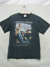 W4696 Small Men's Anvil Black Nickelback All The Right Reasons 2006 Tour T-Shirt