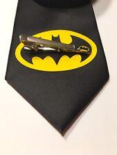 Batman Necktie And Tie Clip