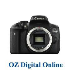 NEW Canon EOS 750D Body 24.2MP WiFi NFC Full HD DSLR Camera 1 Yr Au Wty
