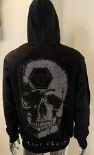 Genuine Philipp Plein /'Strass America/' XXL Black Hoodie Sweatshirt BNWT