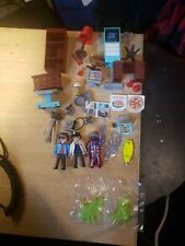 Playmobil Ghostbusters Firehouse Accessories (Incl. Egon in Labcoat, Luis Tully,