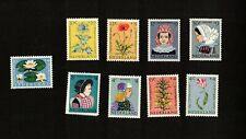 Netherlands to complete sets Scott b343-52 F/Vf Nh Stamps