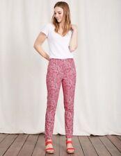 Boden Womens Al Fresco 7/8 Trousers Pants Size 14 Uk Regular NEW RRP £69 Pink