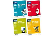 Bond 11+ Plus Assessment Papers10-11 years 4 Book sets English Maths Verbal