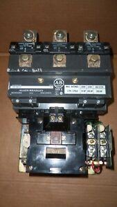 Allen Bradley 709-FOD103 Size 5 Motor Starter 200HP 270 Amp 575v 120v Coil