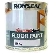 Ronseal Diamond Hard Floor Paint White 750ml 35749