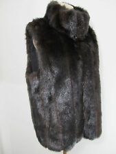 GALLERY Faux Fur Vest Women's M