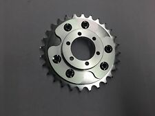 MOTORIZED BICYCLE REAR CNC DISC BRAKE  ADAPTER AND  28T ALUMINUM  SPROCKET