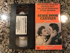 Stage Door Canteen Vhs! 1943 Music Comedy! Do You Love Me April In Paris